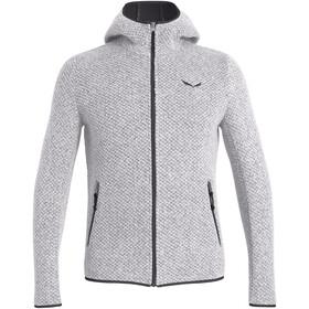 SALEWA Woolen Sweat-shirt à capuche Double épaisseur Homme, silver